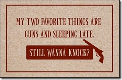 GunsSleepingDoormat