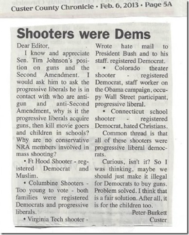 ShootersWereDemocrats