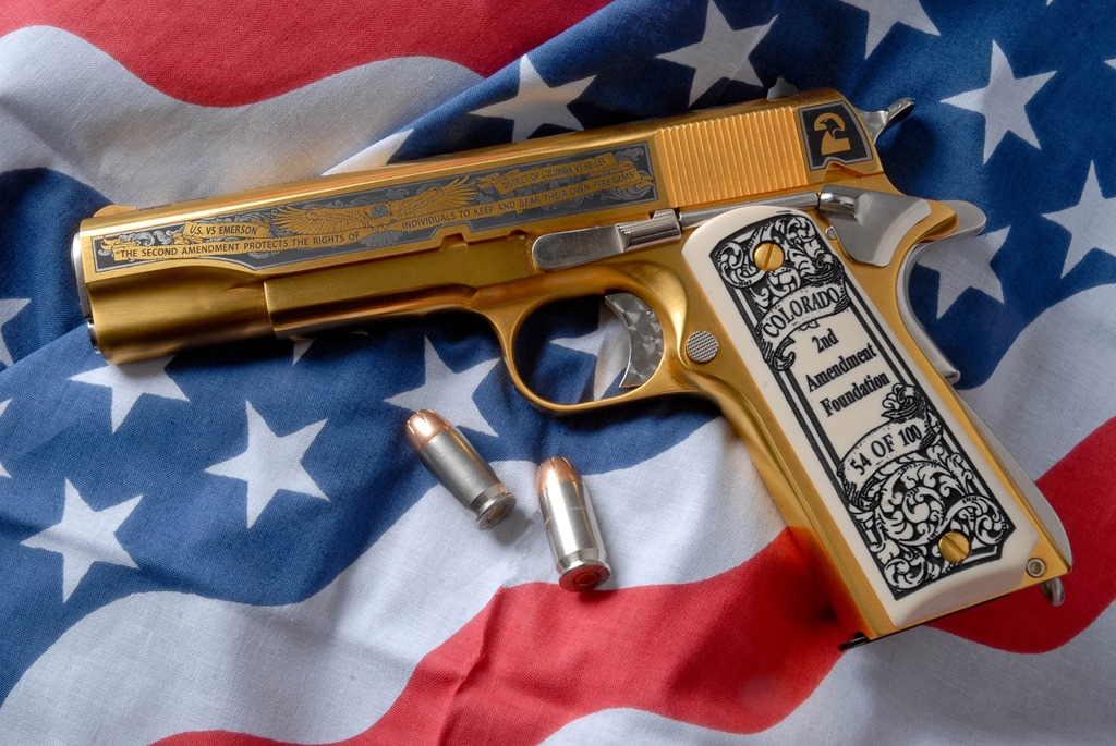 Gold plated guns for sale | The View From North Central Idaho