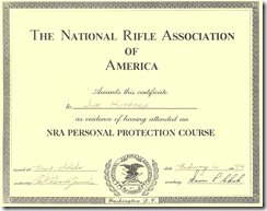 NRAPersonalProtectionCertificate
