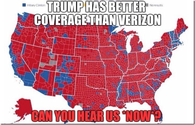 TrumpHasBetterCoverageThanVerizon