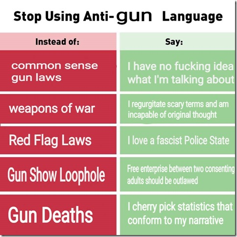 Anti-GunLanguage