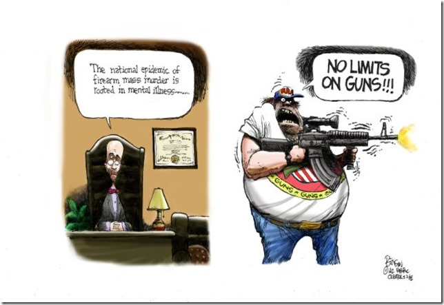 Gun cartoon of the day | The View From North Central Idaho
